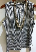 Sleeveless top, £55, Banana Republic