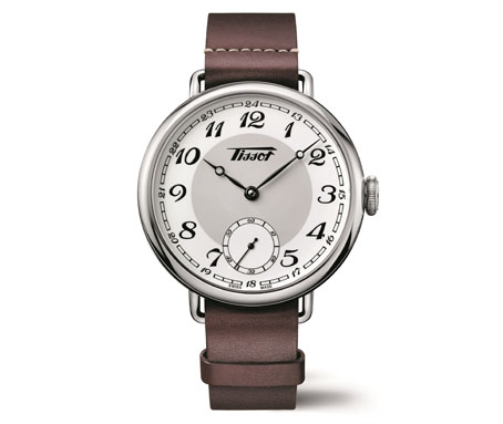 La Tissot Heritage 1936 : un hommage aux premières montres-bracelets