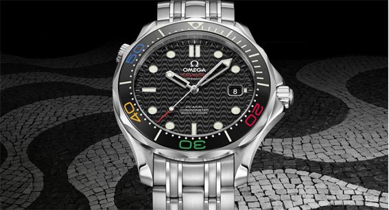 L'horloger Omega au grand magasin Printemps Mode Haussmann du 5 au 21 août…