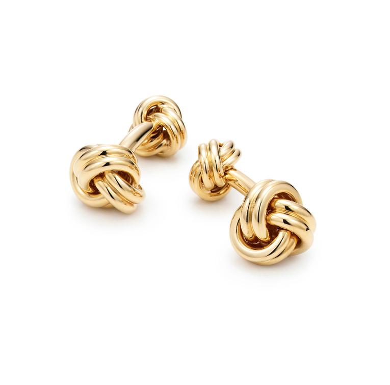 Boutons de manchette Noeud, Tiffany & Co. 3 950 €