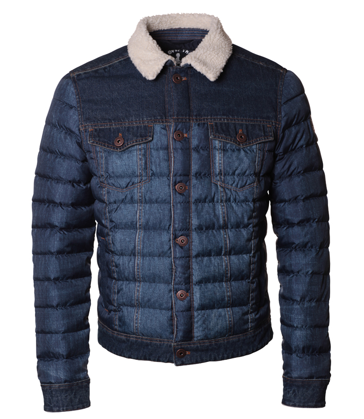 JOTT est l'acronyme de Just Over The Top. Veste Clyde inspiration blue jean.