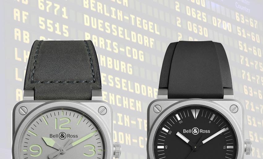 Bell & Ross éperonne le temps avec deux nouveautés : la BR03-92 Horograph et la BR03-92 Horolum