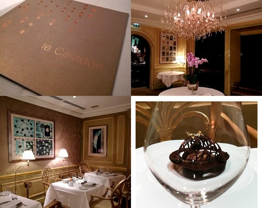 Serial douceurs : les nouveaux desserts concoctés au Restaurant Le Céladon