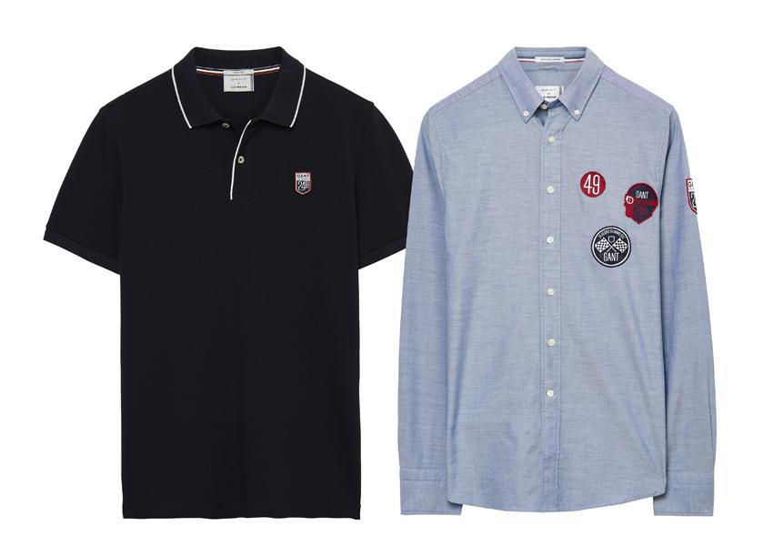 GANT X 24 H DU MANS. Les enfants ne sont pas en reste, ils ont droit comme les adultes à leur polo en coton piqué (99€) et à leur chemise Oxford (109 €)