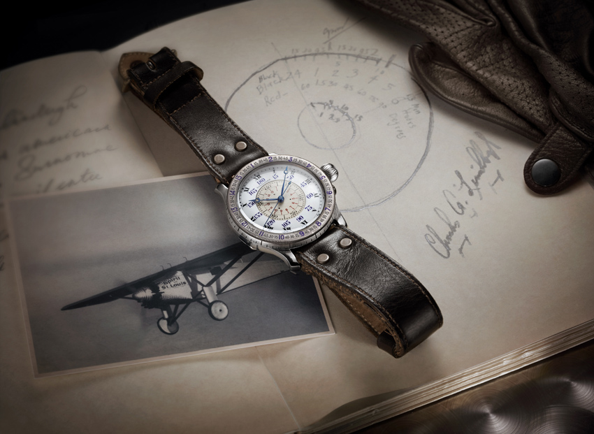 Série limitée anniversaire, Longines The Lindbergh Hour Angle Watch 90th Anniversary