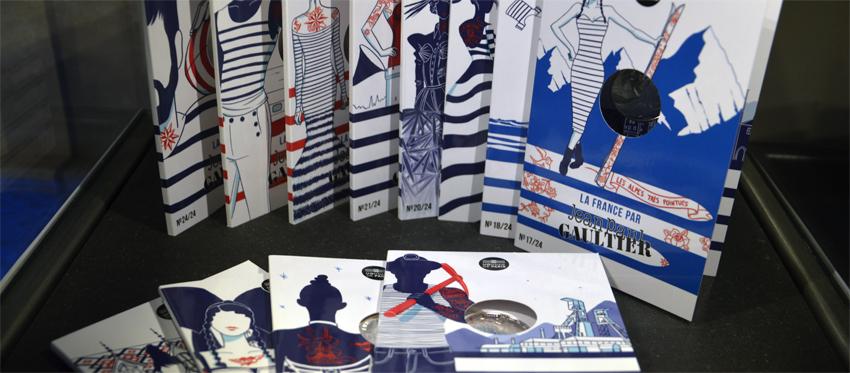 Monnaie de Paris : la France sous toutes les coutures avec Jean Paul Gaultier