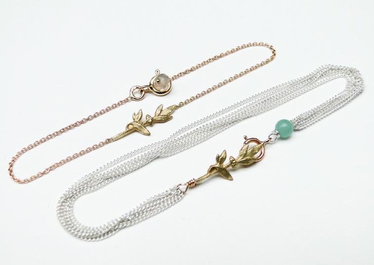 Gilbert Gilbert, collection Alice Rameau, bracelets tout or ou argent et or. À partir de 190 €