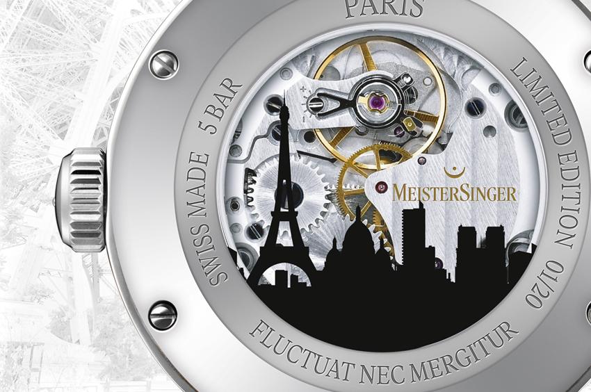 Horlogerie • MeisterSinger met Paris à l'heure allemande