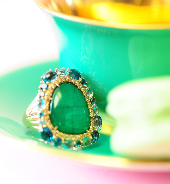 Seda Manoukian Joaillerie compose un Orient gourmand et versicolore. On adore !