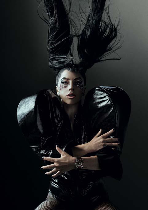 TUDOR X LADY GAGA… #borntodare.