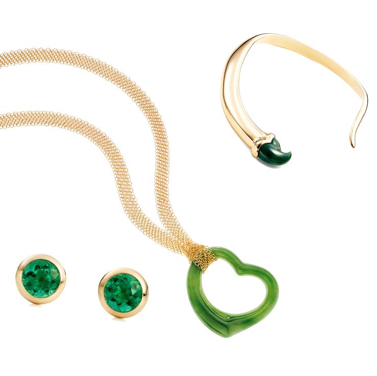 Une sélection de trois talismans signés Elsa Peretti pour Tiffany & Co.