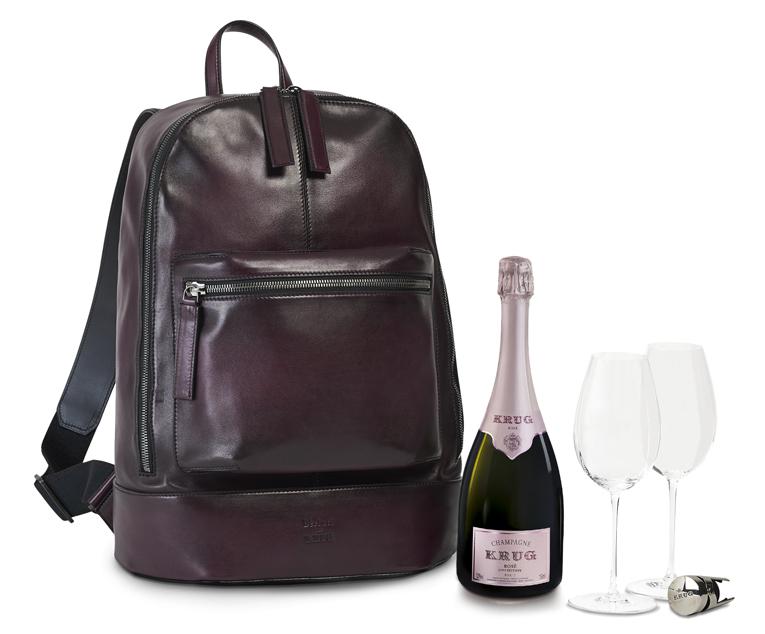Champagne Krug & Berluti, nouvelle collaboration, expression de la quintessence du savoir-faire.