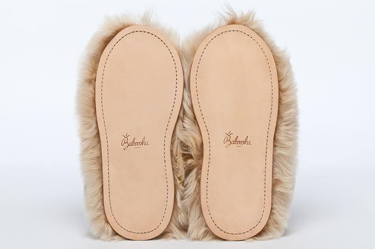 Spécial fêtes et grand froid – Les chaussons de luxe en fourrure, c'est Baboosha