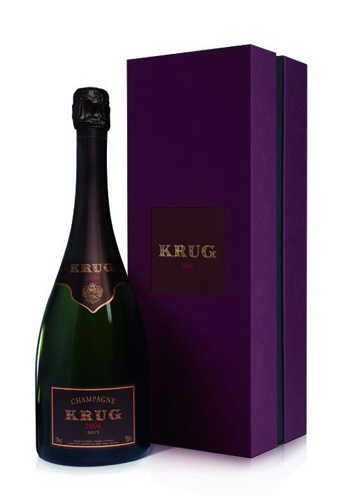 """Krug 2004 est surnommé """"Fraîcheur lumineuse"""". Évoquant ainsi les sensations des matins d'été en Champagne."""