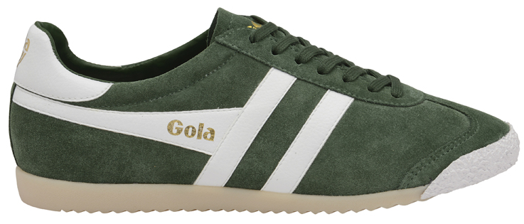 HARRIER 50 SUEDE GREEN WHT