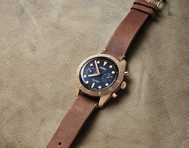 Nouveauté horlogère : Oris Carl Brashear Chronograph Limited Edition, un hommage à la bravoure