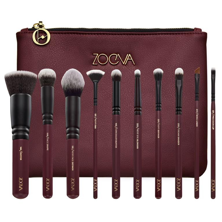 Set de pinceaux Zoeva pour les yeux et le visage en vente sur l'e-shop de chez Sephora.
