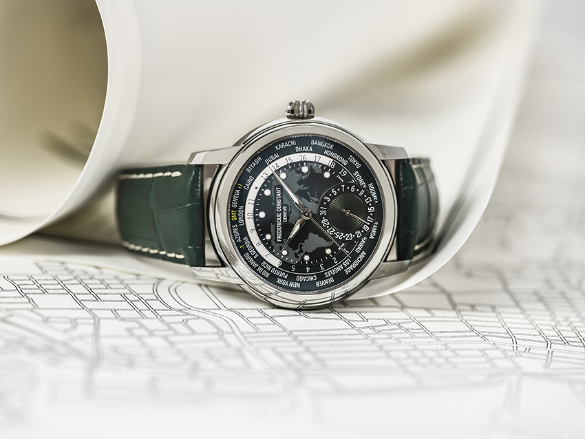 Horlogerie • Classic Manufacture Worldtimer Frédérique Constant, et le monde est à nous !