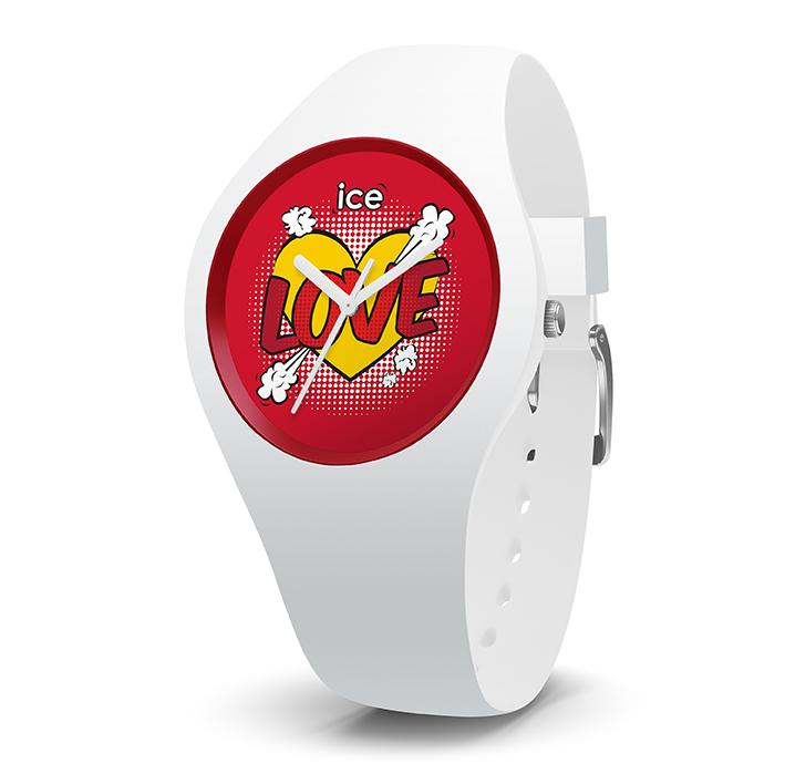 Ice Watch flirte avec l'amour. Faites rimer la passion avec le temps qui passe. ICE love avec Ice-Watch. Série limitée. 79 €