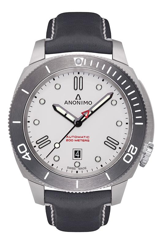 Nautilo Automatic Stainless Steel White dial.