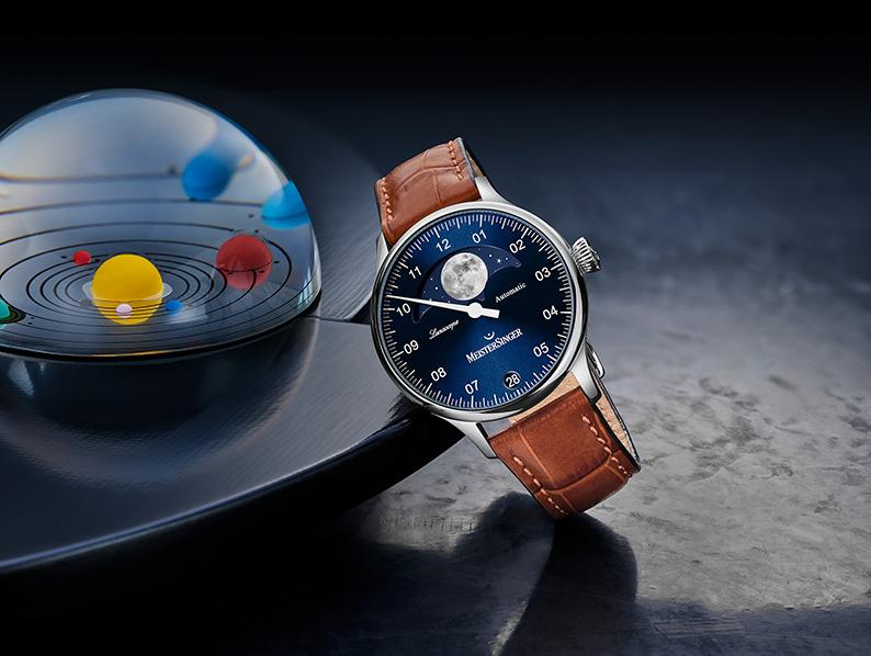 L'horloger Meistersinger met la lune à la une