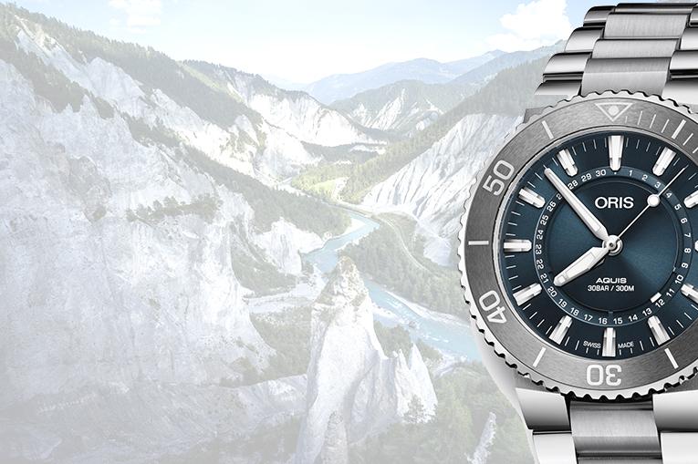 L'horloger Oris présente « Source of Life », un montre de plongée bien engagée