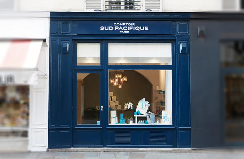 Ouverture boutique • Comptoir Sud Pacifique parfume Paris et sa rive gauche