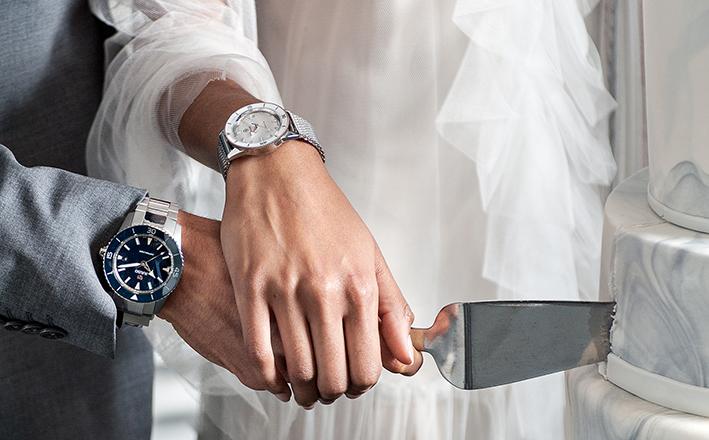 L'horloger RADO propose quatre montres pour se dire oui !