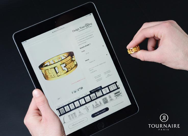 Design Your Ring : le nouveau concept sur mesure du joaillier Tournaire