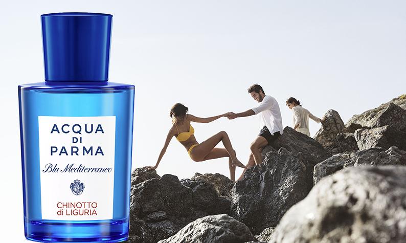 Acqua di Parma fait souffler un vent de liberté sur la Méditerranée