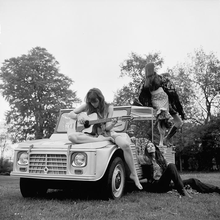 Octobre 1968, première participation au salon de l'Automobile, Porte de Versailles à Paris.