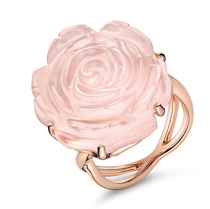 Guérin Rose or rose et quartz rose 1300e
