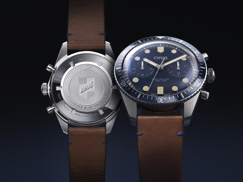 Oris Divers Sixty-five chronograph – Un chronographe exclusif Bucherer Blue Editions