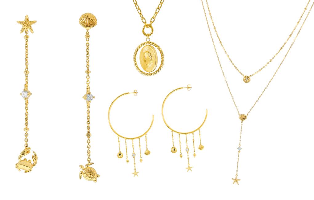 Collection bijoux Agatha, fantaisie au bord de la mer