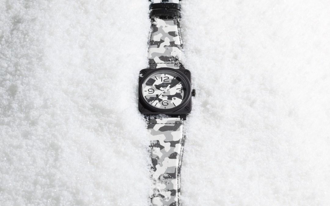 Bell&Ross – Avec BR-03, en mode camouflage pour l'hiver