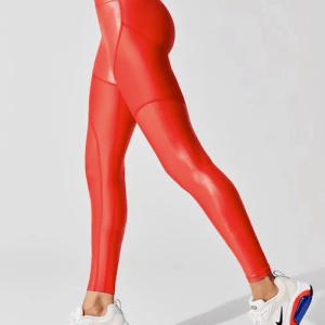 CARBON38 Paneled Leggings Front ShoppingExclusives.com