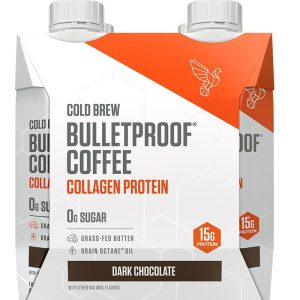 DARK CHOCOLATE COLD BREW WITH COLLAGEN PROTEIN - 4CT @ShoppingExclusives.com