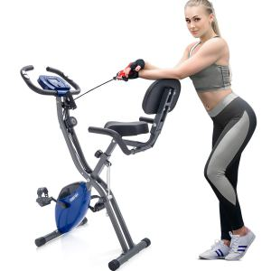 Merax 3 in 1 Adjustable Folding Exercise BikeShoppingExclusives.com