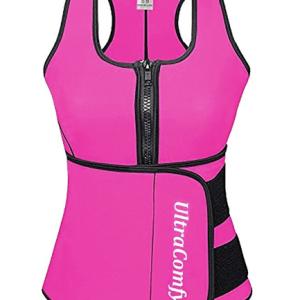 UltraComfy Waist Trainer Sweat Vest Corset for Weight Loss Waist Trimmer Cincher @ShoppingExclusives.com