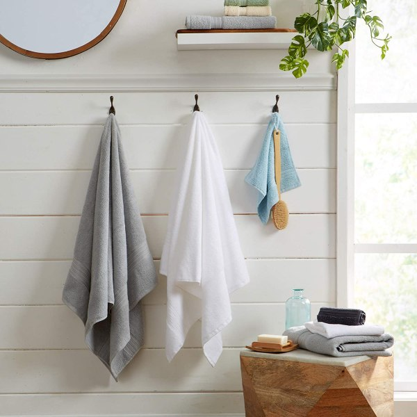 100% Cotton 4-Pack Bath Towel Set by Great Bay Home Shopping Exclusives 3
