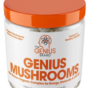 Genius Mushroom Immune System Booster Shopping Exclusives