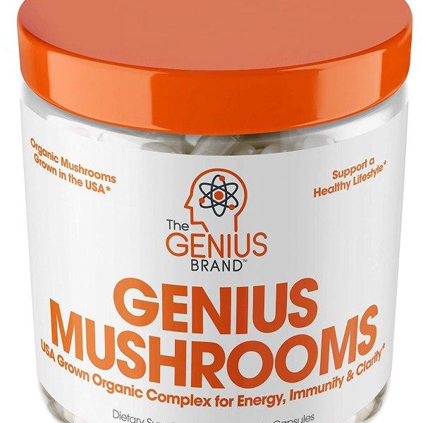 Genius Mushroom Immune System Booster Shopping Exclusives