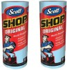 Scott 75130 Shop Towels 2 pack 2 rolls Shopping Exclusives