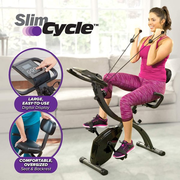 Slim Cycle 2-in-1 Stationary Bike Shopping Exclusives