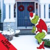 Grinch Stealing Christmas Lights Yard Art Shopping Exclusives