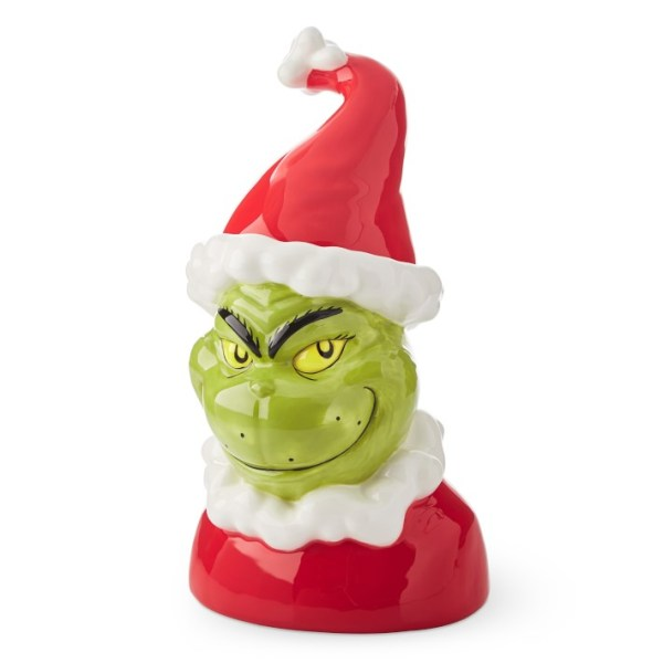 Holiday Style Grinch Cookie Jar Shopping Exclusives
