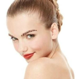 It Is Doable - The Metallic Embellished Eyebrow as seen on Brit+Co