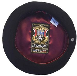 The Classic: Laulhere Authentic Basque French Beret in Black