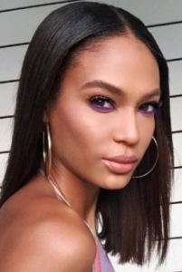 Subtle Look with Purple Enhances Brown Eyes