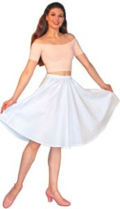 A Half Circle Skirt You Can Custom Dye To A Color No One Else You Know Will Have.
